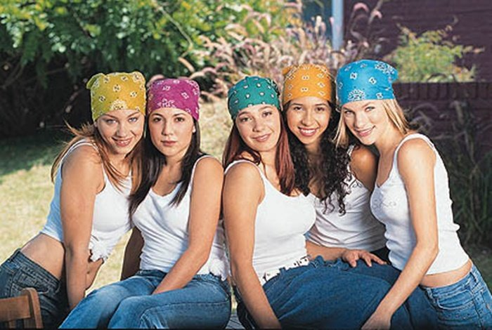 paliacates de colores 90s