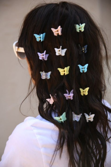 Mariposas broches 90s