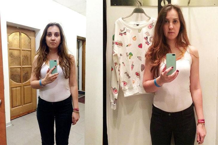 Tienda de ropa probadores espejo bershka