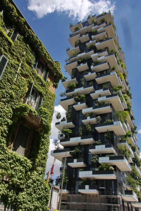 torres verdes para combatir contaminación