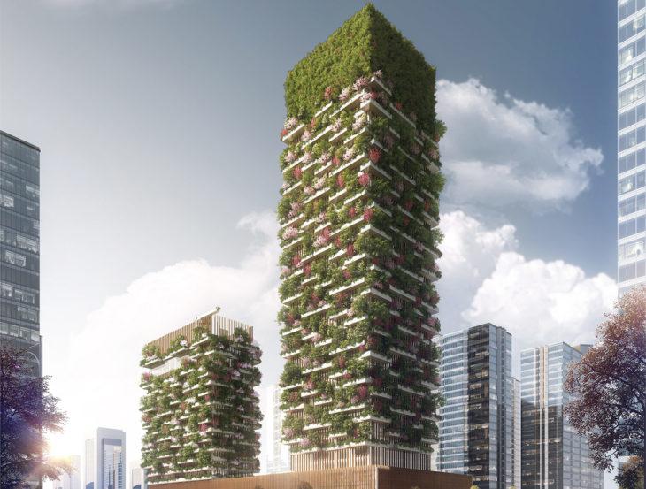 torres verdes en china