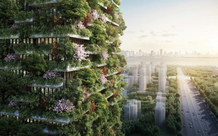 proyecto china edificios verdes