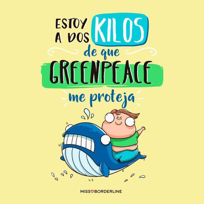 ilustraciones dos kilos green peace