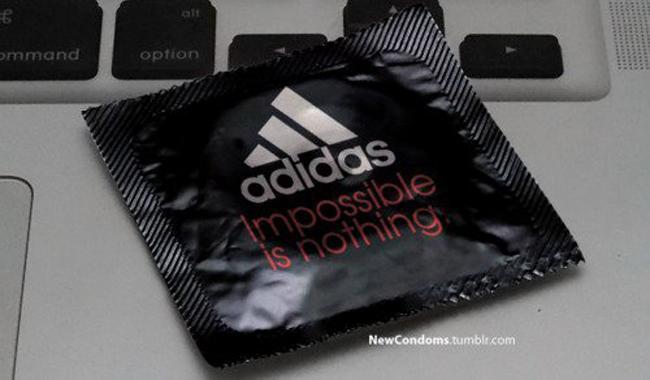 adidas Condones Marca Logos