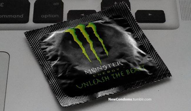 Condones Marca Logos monster