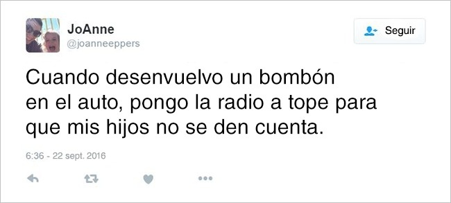 Confesiones madre tuit bombón