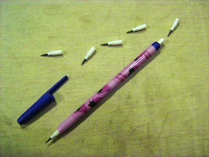 lapiceras puntas primaria objetos de los 90s