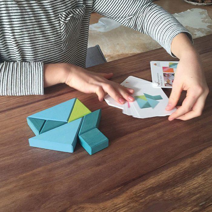 primaria objetos de los 90s tangram