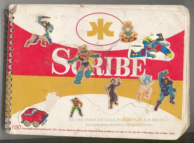 primaria objetos de los 90s cuaderno