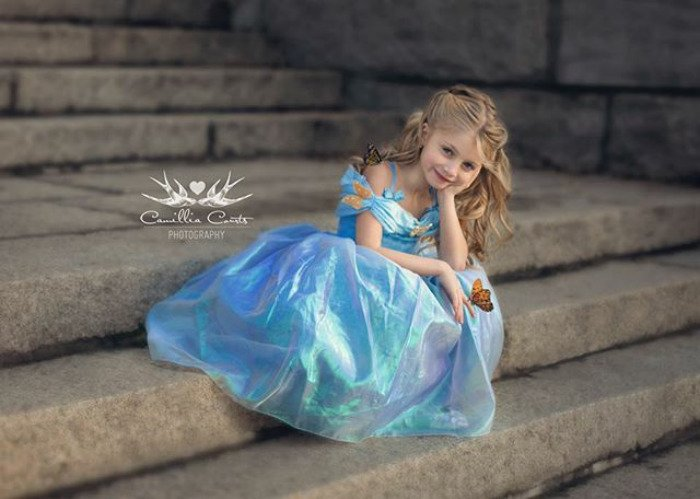 cenicienta princesa Cosplay Photoshop Disney Niña