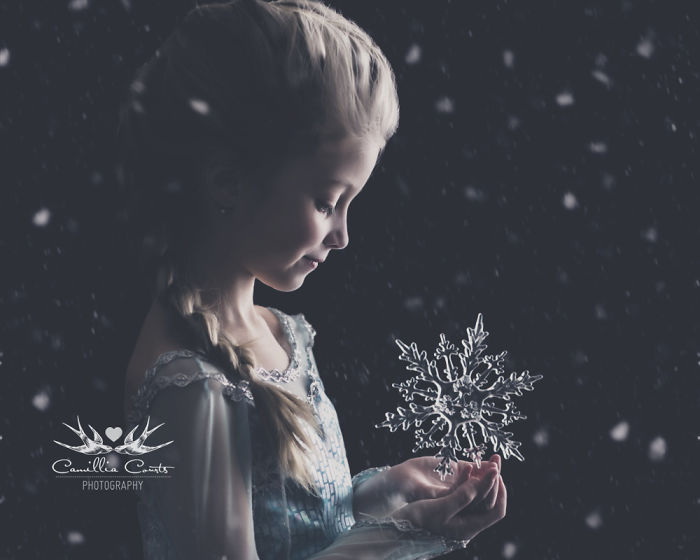 frozen elsa nieve Cosplay Photoshop Disney Niña