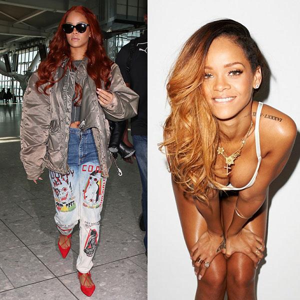 Rihanna estilista look