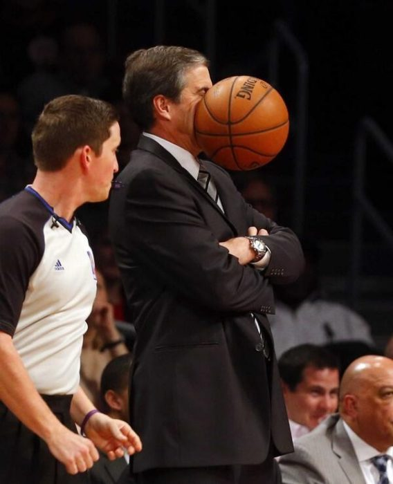 Fotografías tomadas en el momento exacto baloncesto pelota cara