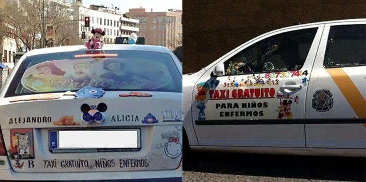taxi para niños enfermos gratis