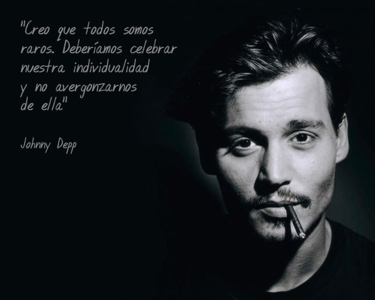 Frases Johnny Depp, individualidad