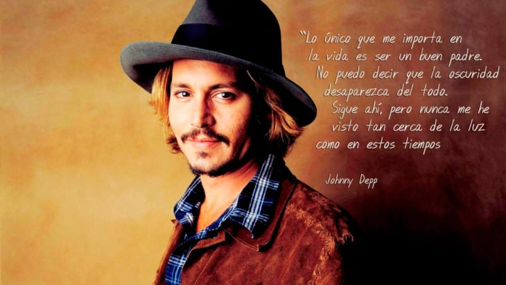 Frases Johnny Depp, ser padre