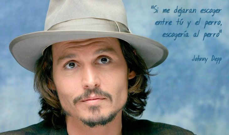 Frases Johnny Depp, perro