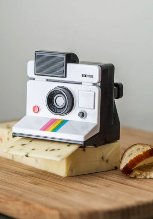 polaroid cortador queso