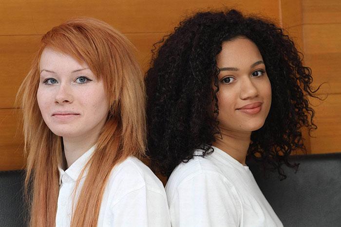 Gemelas diferentes razas