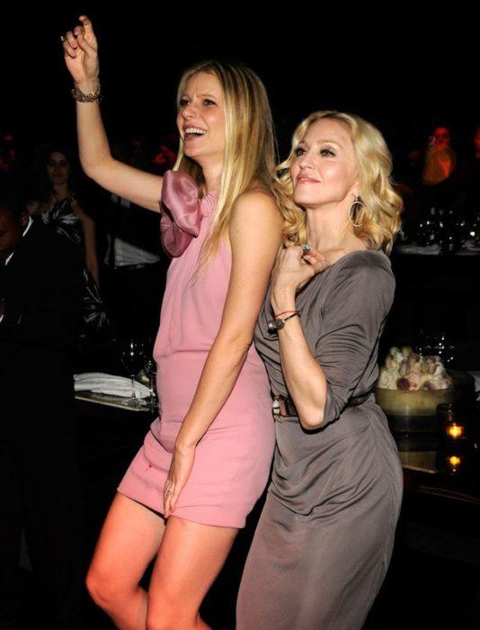 Gwyneth Patrowl y Madonna