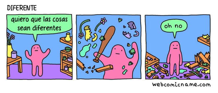 romper cosas Ilustración Alex Norris