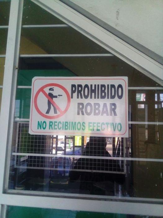 robo prohibido
