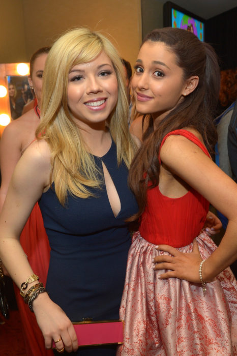 Jannette McCurdy y Ariana Grande