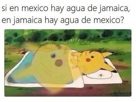 Memes simples jamaica agua