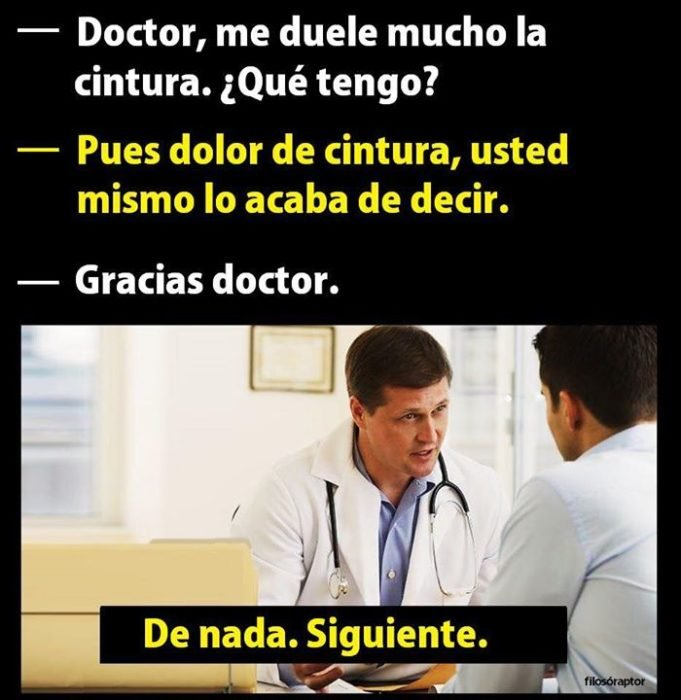 Memes simples doctor