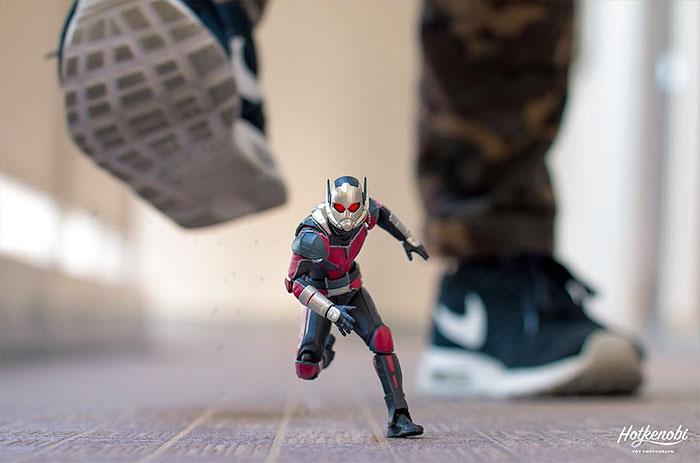 Figuras de acción personajes fotos Hot Kenobi hormiga