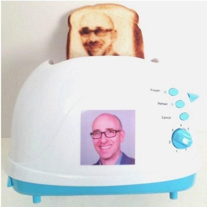 tostador pan con fotos