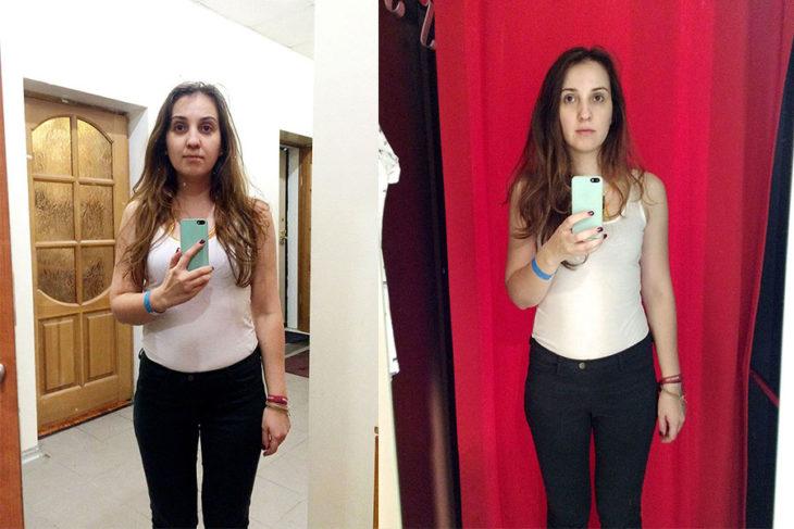 Tienda de ropa probadores espejo Promod