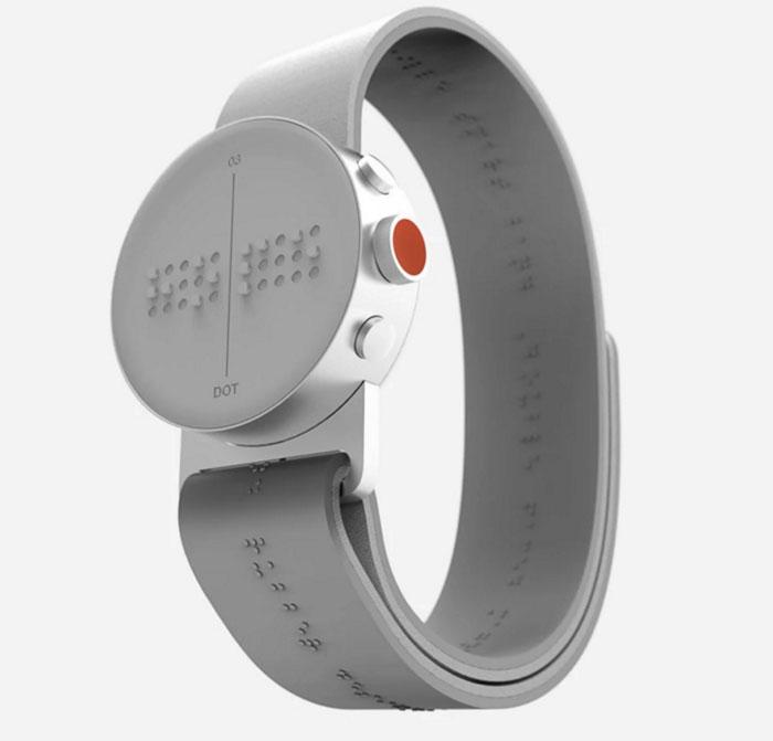 Reloj digital pulsera braile