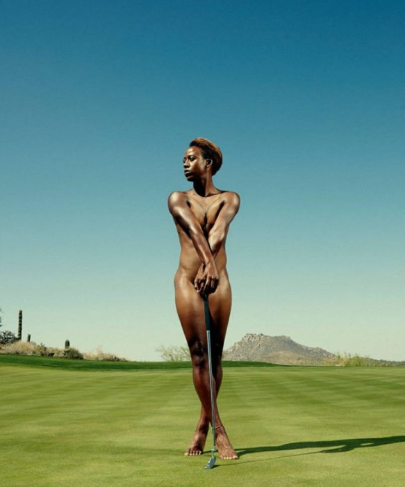 ESPN Revista fotos desnudos Sadena Parques, golf