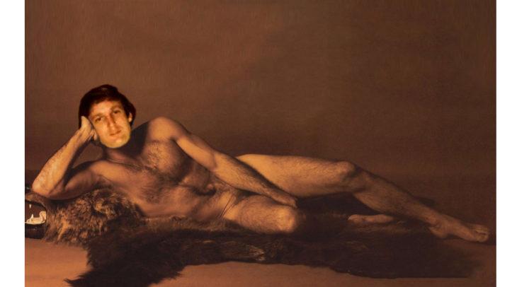 PS foto de trump desnudo