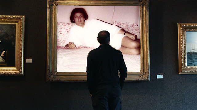 PS foto de trump en exhibición en museo