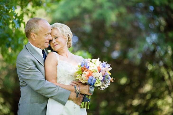 boda de adultos mayores