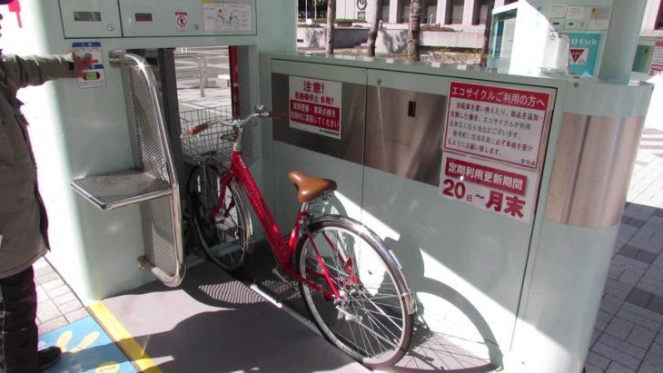 aparcado automático de bicicletas