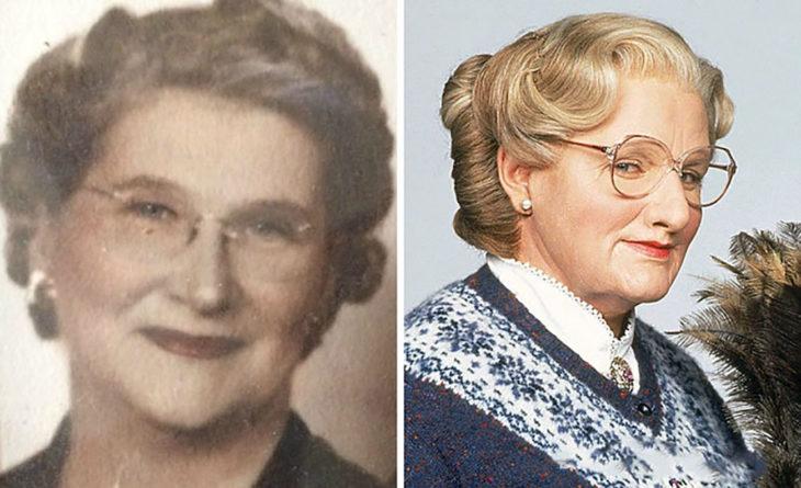 bisabuela luce como mrs doubtfire