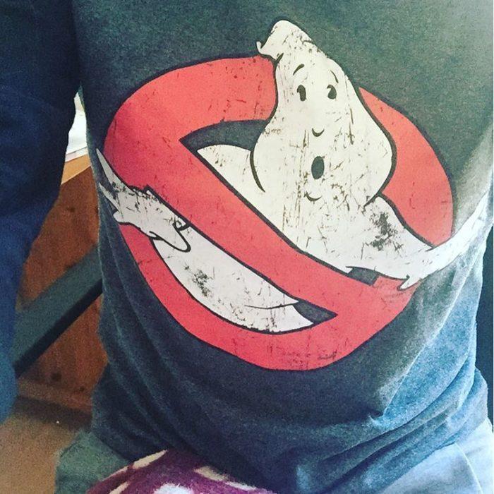 camisa estampada de gasparín