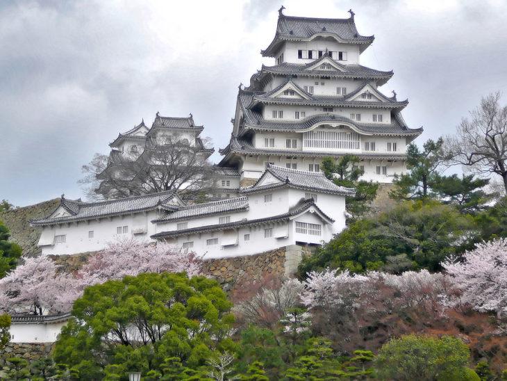castillo clásico japonés