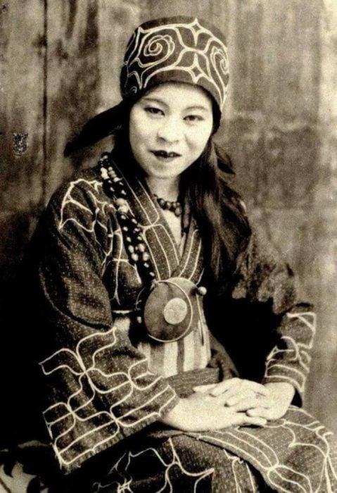 mujer china