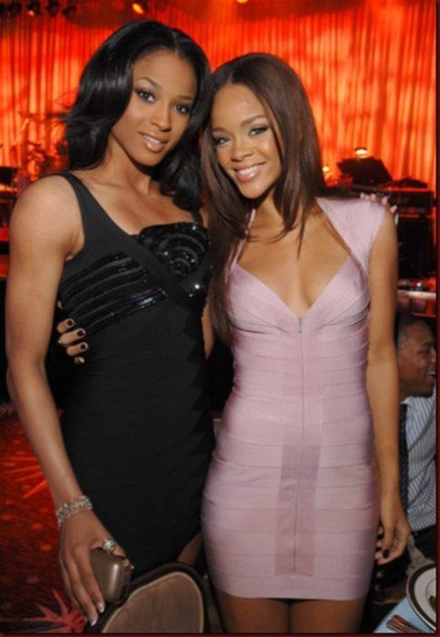 Ciara y Rihanna