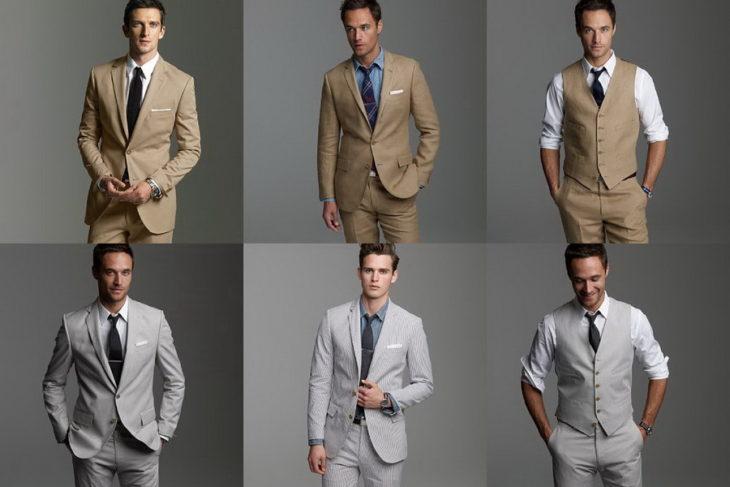 hombres corbata traje
