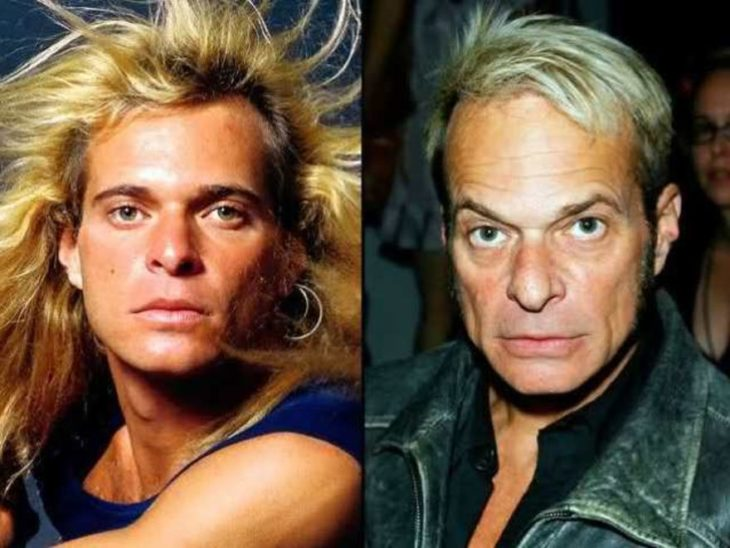 antes y después de david lee roth