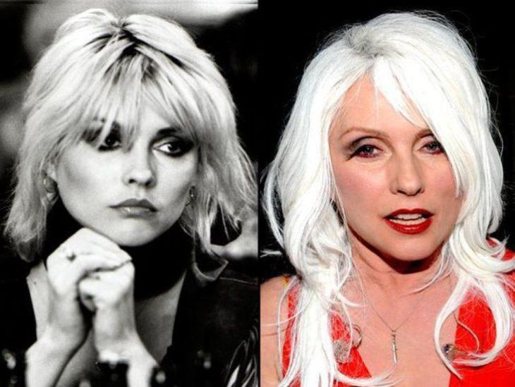 Debbie Hary antes y después