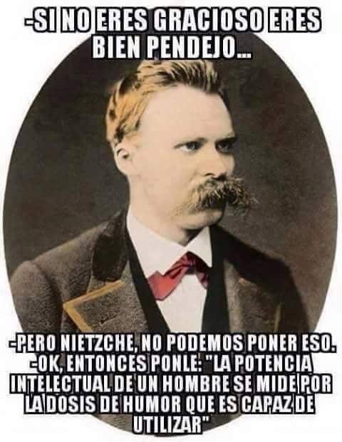 Pero no podemos poner eso frases que fueron cambiadas filósofos Nietzche