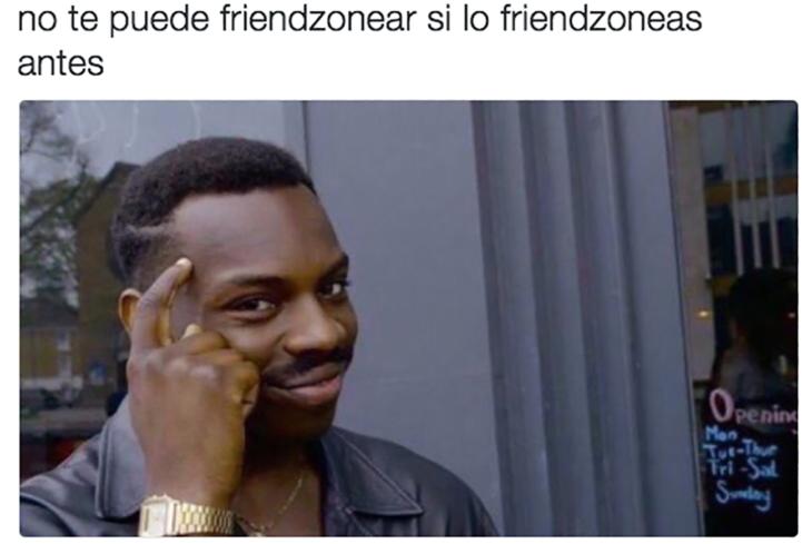meme de Kayode sobre la friendzone