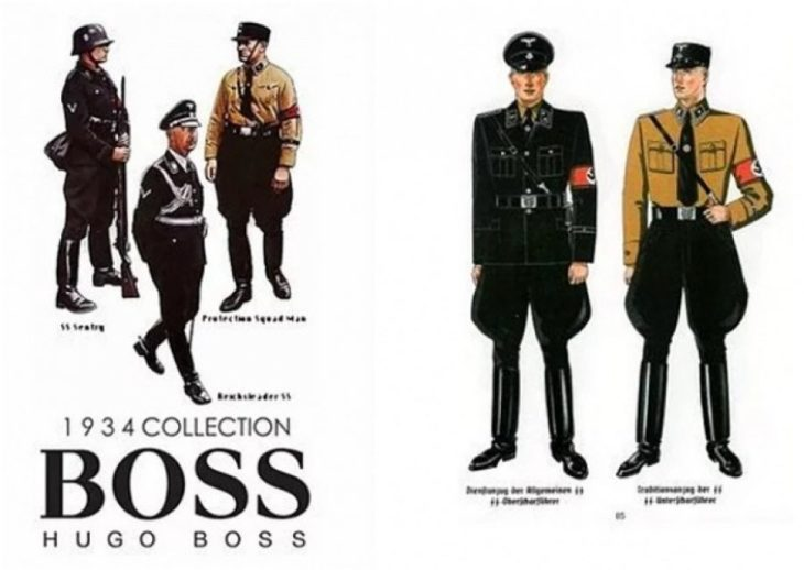 uniformes nazis hugo boss