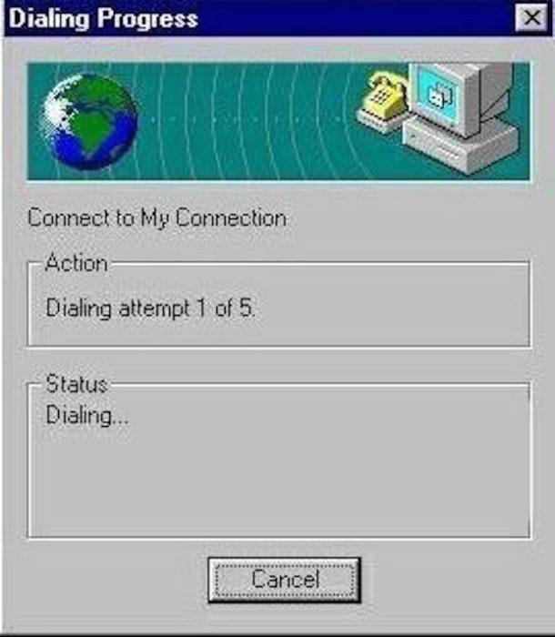 internet old reconectando